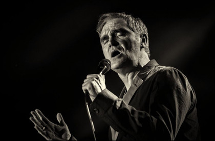 Man auf Mission - Fotos: Morrissey live in der Hugenottenhalle in Neu-Isenburg