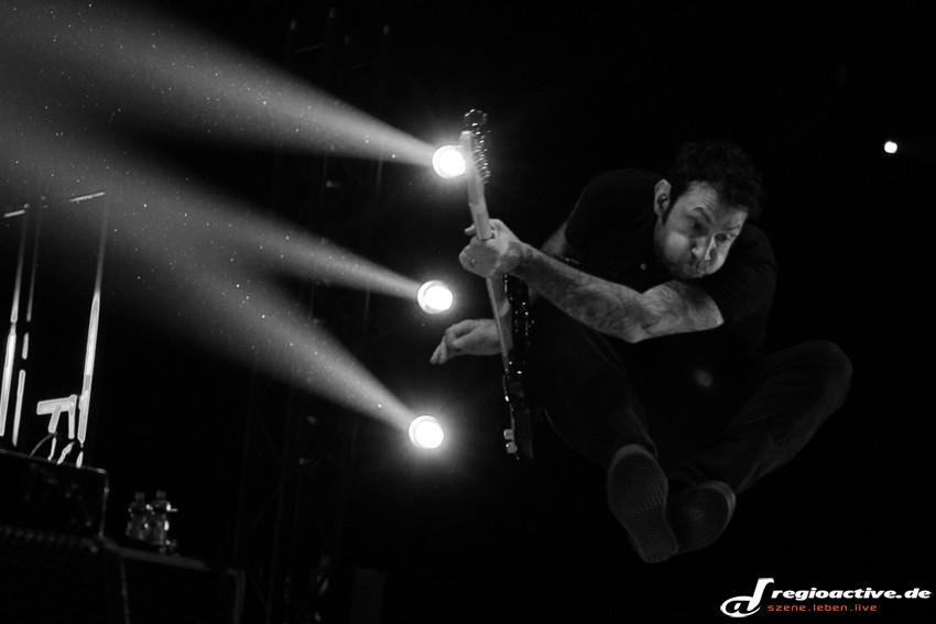 Rise Against Fotos Live in Stuttgart