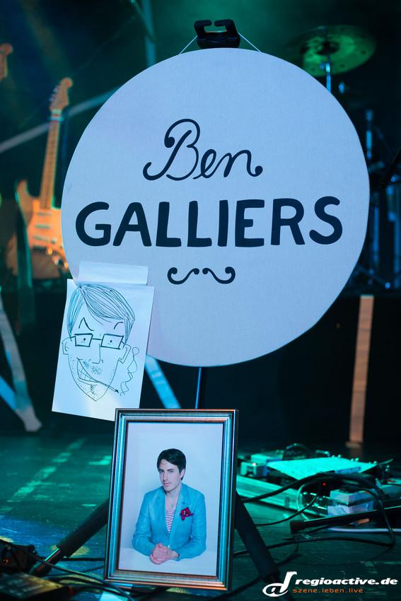 Fotos: Ben Galliers in Frankfurt an Main am 17.10.2015